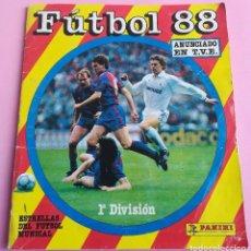 Álbum de fútbol completo: ÁLBUM DE CROMOS COMPLETO PANINI LIGA DE FÚTBOL 88. Lote 116865327