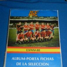 Álbum de fútbol completo: ALBUM ESPAÑA 82 ALBUM PORTA FICHAS DE LA SELECCION NACIONAL ESPAÑOLA 1982 , COMPLETO !!!!!. Lote 117111411