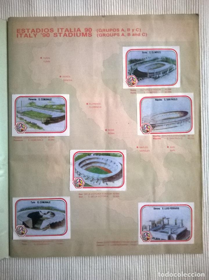 Álbum de fútbol completo: ALBUM CROMOS COPA MUNDIAL 1990 ITALIA 90 100% COMPLETO PRIMERA NAVARRETE PERU EDICION - Foto 3 - 117873995