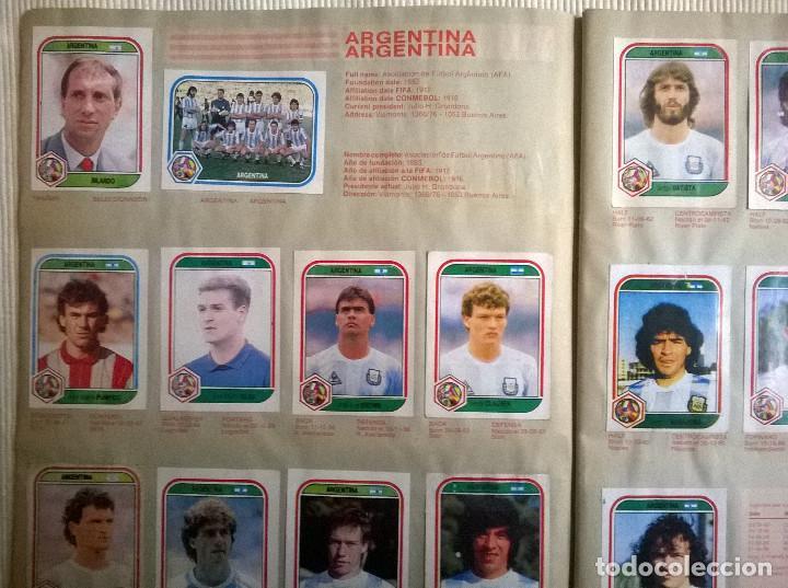 Álbum de fútbol completo: ALBUM CROMOS COPA MUNDIAL 1990 ITALIA 90 100% COMPLETO PRIMERA NAVARRETE PERU EDICION - Foto 5 - 117873995