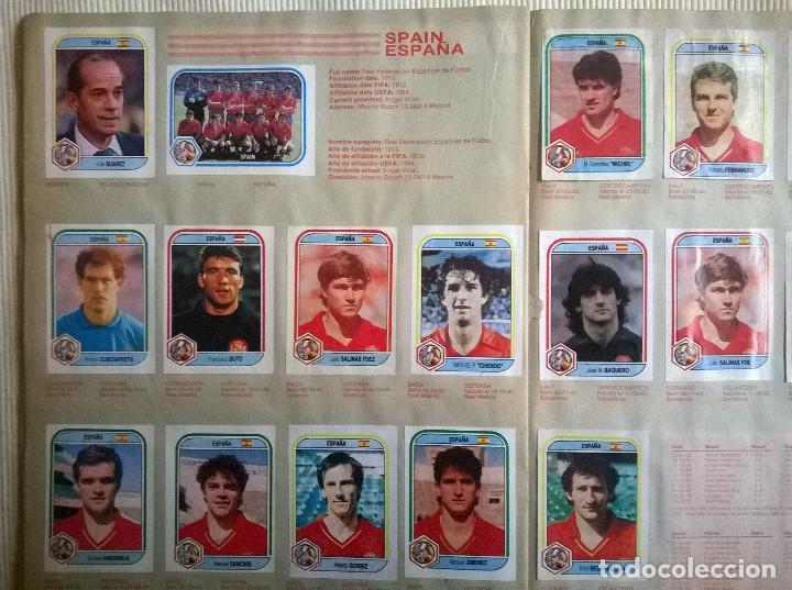 Álbum de fútbol completo: ALBUM CROMOS COPA MUNDIAL 1990 ITALIA 90 100% COMPLETO PRIMERA NAVARRETE PERU EDICION - Foto 7 - 117873995