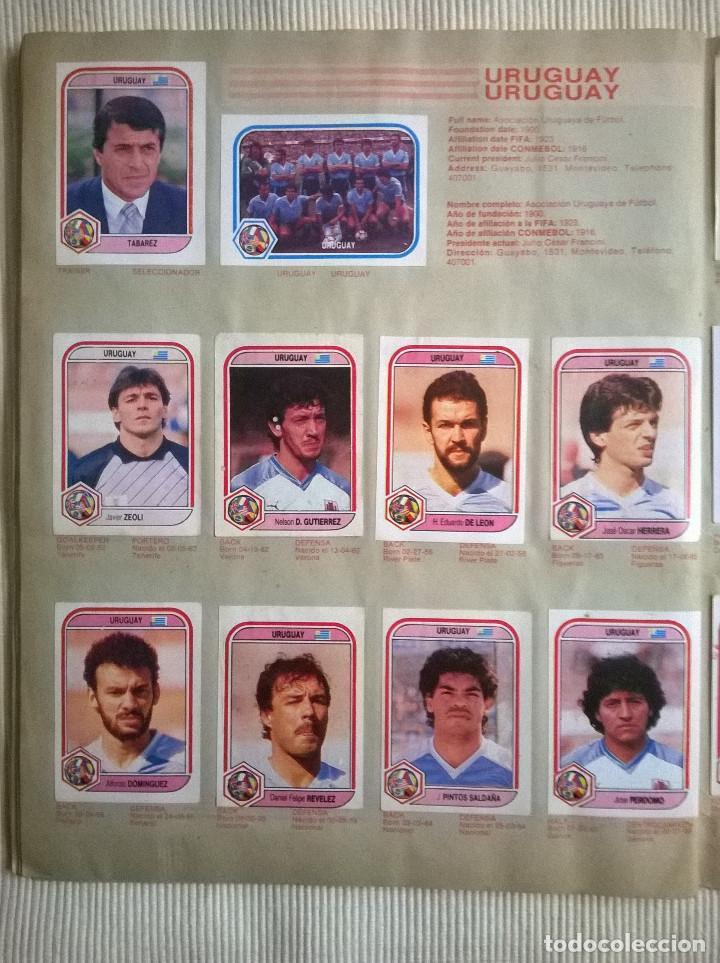 Álbum de fútbol completo: ALBUM CROMOS COPA MUNDIAL 1990 ITALIA 90 100% COMPLETO PRIMERA NAVARRETE PERU EDICION - Foto 9 - 117873995