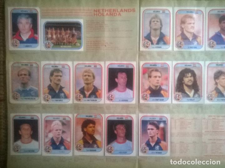 Álbum de fútbol completo: ALBUM CROMOS COPA MUNDIAL 1990 ITALIA 90 100% COMPLETO PRIMERA NAVARRETE PERU EDICION - Foto 10 - 117873995