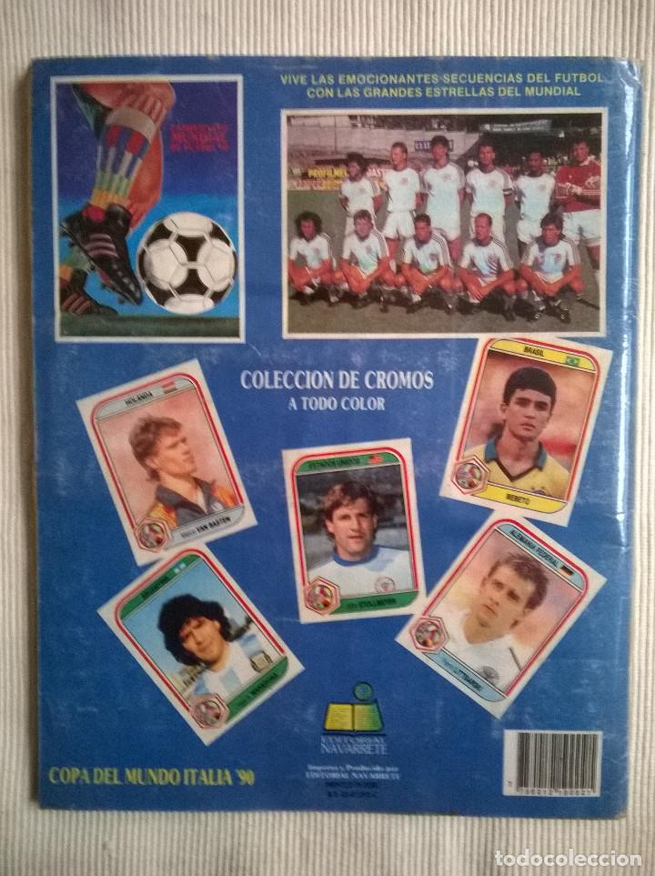 Álbum de fútbol completo: ALBUM CROMOS COPA MUNDIAL 1990 ITALIA 90 100% COMPLETO PRIMERA NAVARRETE PERU EDICION - Foto 12 - 117873995