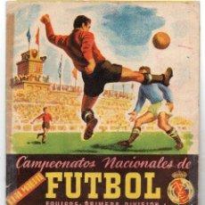 Álbum de fútbol completo: REAL MADRID CAMPEONATO NACIONAL DE FUTBOL 1º DIVISIÓN,TEMPORADA1952-53 EDITORIAL RUIZ ROMERO. Lote 117924311