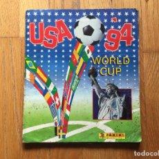 Álbum de fútbol completo: ÁLBUM MUNDIAL 94 PANINI, COMPLETO LEER. Lote 126952604