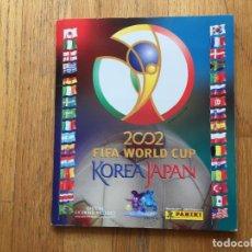 Álbum de fútbol completo: ALBUM KOREA JAPAN, 2002, PANINI COMPLETO. Lote 130413035