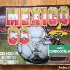 Álbum de fútbol completo: ALBUM MEXIICO 86, CROMOS BARNA COMPLETO. Lote 118442175