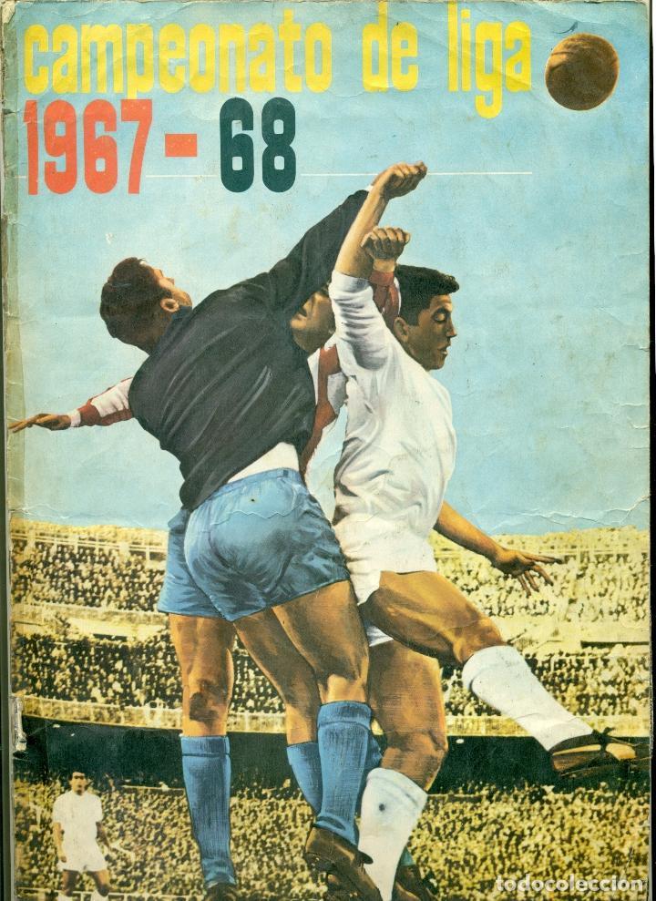 CAMPEONATO DE LIGA 1967-1968 DE DISGRA COMPLETO (Coleccionismo Deportivo - Álbumes y Cromos de Deportes - Álbumes de Fútbol Completos)