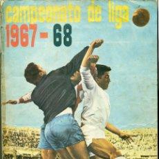 Álbum de fútbol completo: CAMPEONATO DE LIGA 1967-1968 DE DISGRA COMPLETO. Lote 118530331