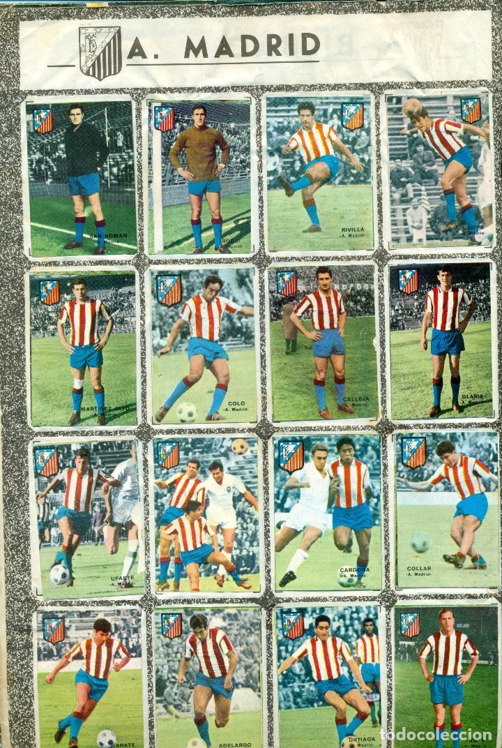 Álbum de fútbol completo: CAMPEONATO DE LIGA 1967-1968 DE DISGRA COMPLETO - Foto 2 - 118530331