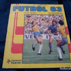 Álbum de fútbol completo: FUTBOL 83 PANINI CROMO CROM ÁLBUM CASI COMPLETO BUEN ESTADO. IMPORTANTE LEER DESCRIPCIÓN. Lote 118700327