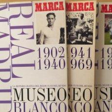 Álbum de fútbol completo: HISTORIA GRÁFICA DEL MEJOR CLUB DEL MUNDO. COLECCIÓN COMPLETA. Lote 118775224