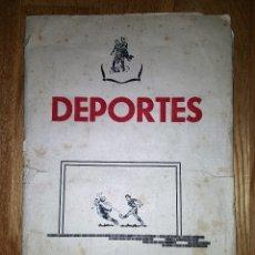 Álbum de fútbol completo: ALBUM CAMPEONES 1955 1956 55 56 - EDITORIAL BRUGUERA. COMPLETO DEPORTES. Lote 80073845