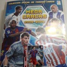 Álbum de fútbol completo: ALBUM COMPLETO MEGA CRACKS 2005-2006 DE PANINI. Lote 118931342