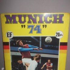Album de football complet: ALBUM UNICH 74 COMPLETO,BUEN ESTADO,BARATO. Lote 118947487