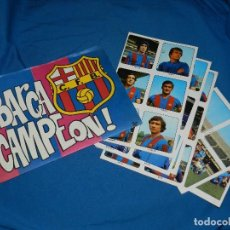 Álbum de fútbol completo: ALBUM COMPLETO - BARÇA CAMPEON , CROMOS SUELTOS PLANCHA , KEISA EDC 1974 . Lote 119077647