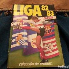 Álbum de fútbol completo: 82/83 ESTE. ALBUM MUY COMPLETO MAYORÍA FICHAJES COLOCAS VERSIONES BUEN ESTADO. MUY IMPORTANTE LEER. Lote 119151675
