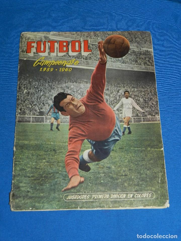 ALBUM COMPLETO - FUTBOL CAMPEONATO 1959 60 , EDC FERCA - COMPLETO + ( 16 CROMOS COLOCAS ) (Coleccionismo Deportivo - Álbumes y Cromos de Deportes - Álbumes de Fútbol Completos)