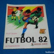Álbum de fútbol completo: ALBUM COMPLETO - FUTBOL 82 1 Y 2 DIVISION , PANINI 1982 , COMPLETO , POCAS SEÑALES DE USO. Lote 119172639
