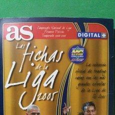 Álbum de fútbol completo: LAS FICHAS DE LA LIGA 2005. AS. LFP . ÁLBUM COMPLETO. Lote 119579702