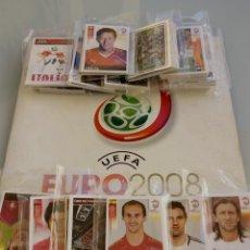 Caderneta de futebol completa: ALBUM PANINI. - UEFA EURO 2008 - COMPLETE COLLECTION. #. Lote 195009287