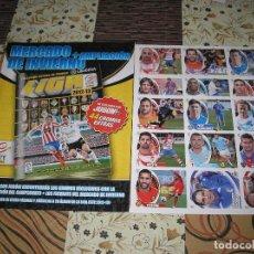 Álbum de fútbol completo: ESTE 2012 - 2013 - LOS 45 CROMOS MERCADO DE INVIERNO + ACTUALIZACION + ALBUM. Lote 119964307