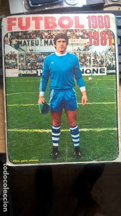 ALBUM DE FÚTBOL 1980 1981 DISGRA. COMPLETO SIN ÚLTIMOS FICHAJES (Coleccionismo Deportivo - Álbumes y Cromos de Deportes - Álbumes de Fútbol Completos)