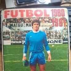Álbum de fútbol completo: ALBUM DE FÚTBOL 1980 1981 DISGRA. COMPLETO SIN ÚLTIMOS FICHAJES. Lote 120102419