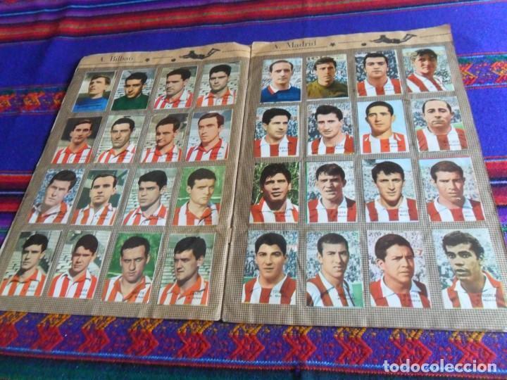 Álbum de fútbol completo: FHER DISGRA CAMPEONATO DE LIGA 1966 1967 66 67 COMPLETO. REGALO 1967 1968 67 68 INCOMPLETO. - Foto 3 - 120210527