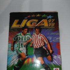 Álbum de fútbol completo: ALBUM DE CROMOS FUTBOL, LIGA 97 98 EDICIONES ESTE, EQUIPOS COMPLETOS, COLOCAS, FICHAJE BIS 1997 1998. Lote 120323515