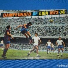 Álbum de fútbol completo: ALBUM CAMPEONATO DE LIGA 1973 - 74 DISGRA , COMPLETO ( FALTA EL POSTER CENTRAL ). Lote 120627179
