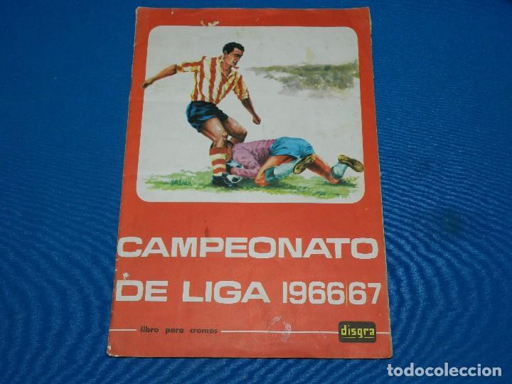 ALBUM COMPLETO - CAMPEONATO DE LIGA 1966 - 67 , DISGRA , COMPLETO (Coleccionismo Deportivo - Álbumes y Cromos de Deportes - Álbumes de Fútbol Completos)