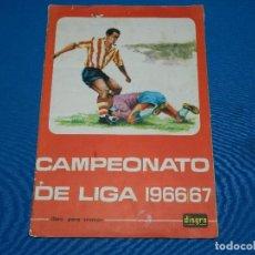 Álbum de fútbol completo: ALBUM COMPLETO - CAMPEONATO DE LIGA 1966 - 67 , DISGRA , COMPLETO . Lote 120638159