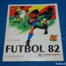 Álbum de fútbol completo: ALBUM COMPLETO - FUTBOL 82 1 Y 2 DIVISION , FIGURINE PANINI 1982 , MUY BUEN ESTADO. Lote 120638263