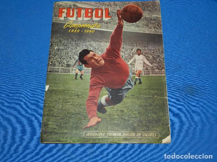 ALBUM COMPLETO - FUTBOL CAMPEONATO 1959 - 1960 EDC FERCA 1959 , COMPLETO (Coleccionismo Deportivo - Álbumes y Cromos de Deportes - Álbumes de Fútbol Completos)