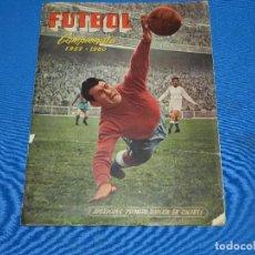 Álbum de fútbol completo: ALBUM COMPLETO - FUTBOL CAMPEONATO 1959 - 1960 EDC FERCA 1959 , COMPLETO. Lote 120638335