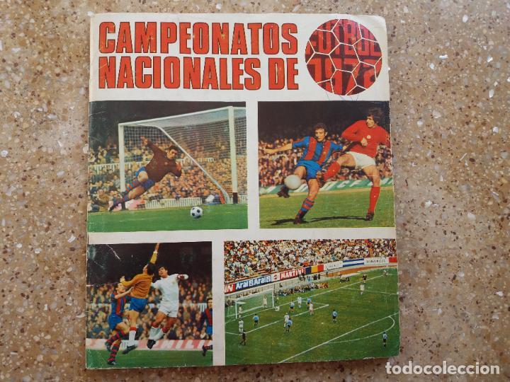 ÁLBUM RUIZ ROMERO 71.72. COMPLETO. CON 8 DOBLES (Coleccionismo Deportivo - Álbumes y Cromos de Deportes - Álbumes de Fútbol Completos)
