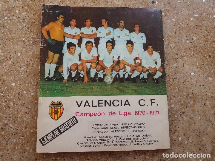 Álbum de fútbol completo: ÁLBUM RUIZ ROMERO 71.72. COMPLETO. CON 8 DOBLES - Foto 2 - 120729671