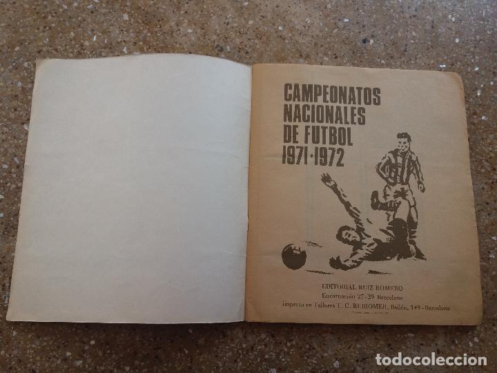 Álbum de fútbol completo: ÁLBUM RUIZ ROMERO 71.72. COMPLETO. CON 8 DOBLES - Foto 3 - 120729671