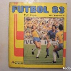 Álbum de fútbol completo: ALBUM CROMOS COMPLETO FUTBOL PANINI FUTBOL-83. Lote 121021263