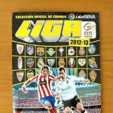 Álbum de fútbol completo: ÁLBUM LIGA 2012-2013, 12-13 - EDICIONES ESTE - COMPLETO - VER FOTOS Y EXPLICACIÓN INTERIOR. Lote 121150147