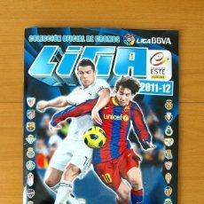 Álbum de fútbol completo: ÁLBUM LIGA 2011-2012, 11-12 - EDICIONES ESTE - COMPLETO - VER FOTOS Y EXPLICACIÓN INTERIOR. Lote 121151691