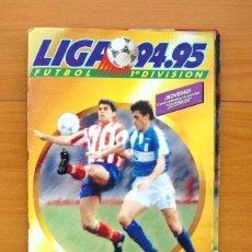 Álbum de fútbol completo: ÁLBUM LIGA 94-95, 1994-1995 - EDICIONES ESTE - COMPLETO - VER FOTOS EN EL INTERIOR. Lote 121220271