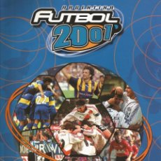 Álbum de fútbol completo: ALBUM DS. - ARGENTINA FUTBOL 2001 - COMPLETE COLLECTION. #. Lote 121385807