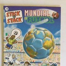 Álbum de fútbol completo: ÁLBUM STICK & STACK MUNDIAL DE FÚTBOL – Nº28 PANINI. Lote 121916015