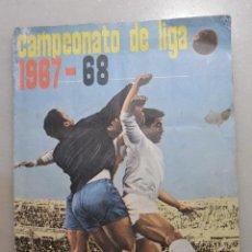 Álbum de fútbol completo: ALBUM CROMOS FHER CAMPEONATO DE LIGA 1967/68. Lote 122005067