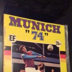 Álbum de fútbol completo: ALBUM DE FUTBOL MUNDIAL MUNICH 74 COMPLETO COCA COLA FHER. Lote 122145503