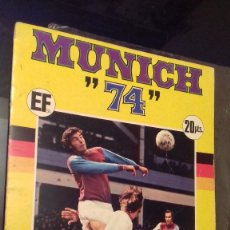 Álbum de fútbol completo: ALBUM DE FUTBOL MUNDIAL MUNICH 74 COMPLETO COCA COLA FHER. Lote 122153083