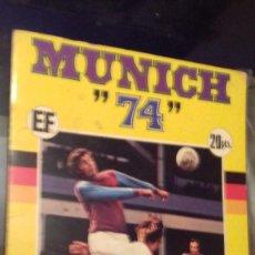 Álbum de fútbol completo: ALBUM DE FUTBOL MUNDIAL MUNICH 74 COMPLETO COCA COLA FHER. Lote 122153207